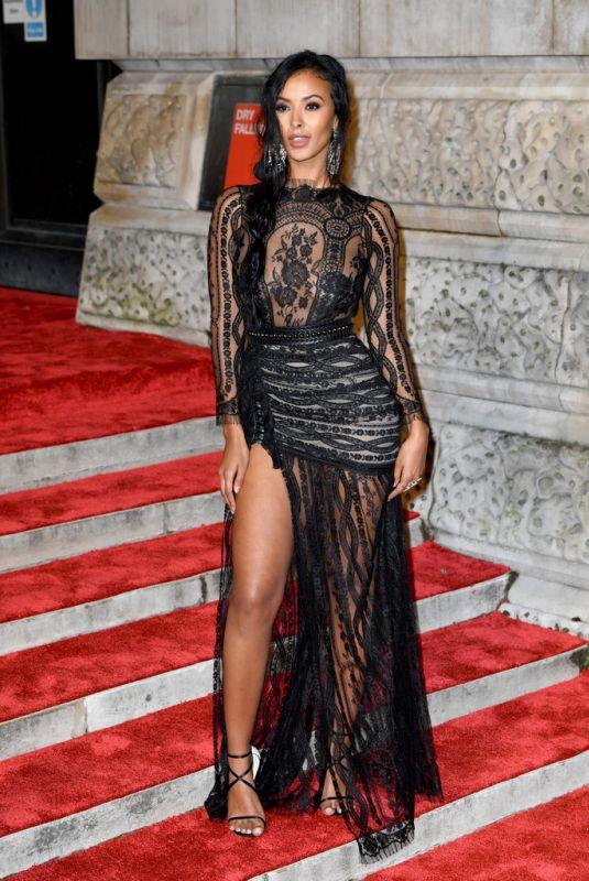 MAYA JAMA at Bafta Awards 2019 in London 02/10/2019