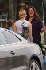 MEG DONNELLY on the Set of American Housewife in Los Angeles 02/26/2019
