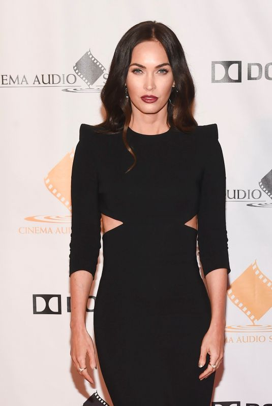 MEGAN FOX at Cas Awards 2019 in Los Angeles 02/16/2019