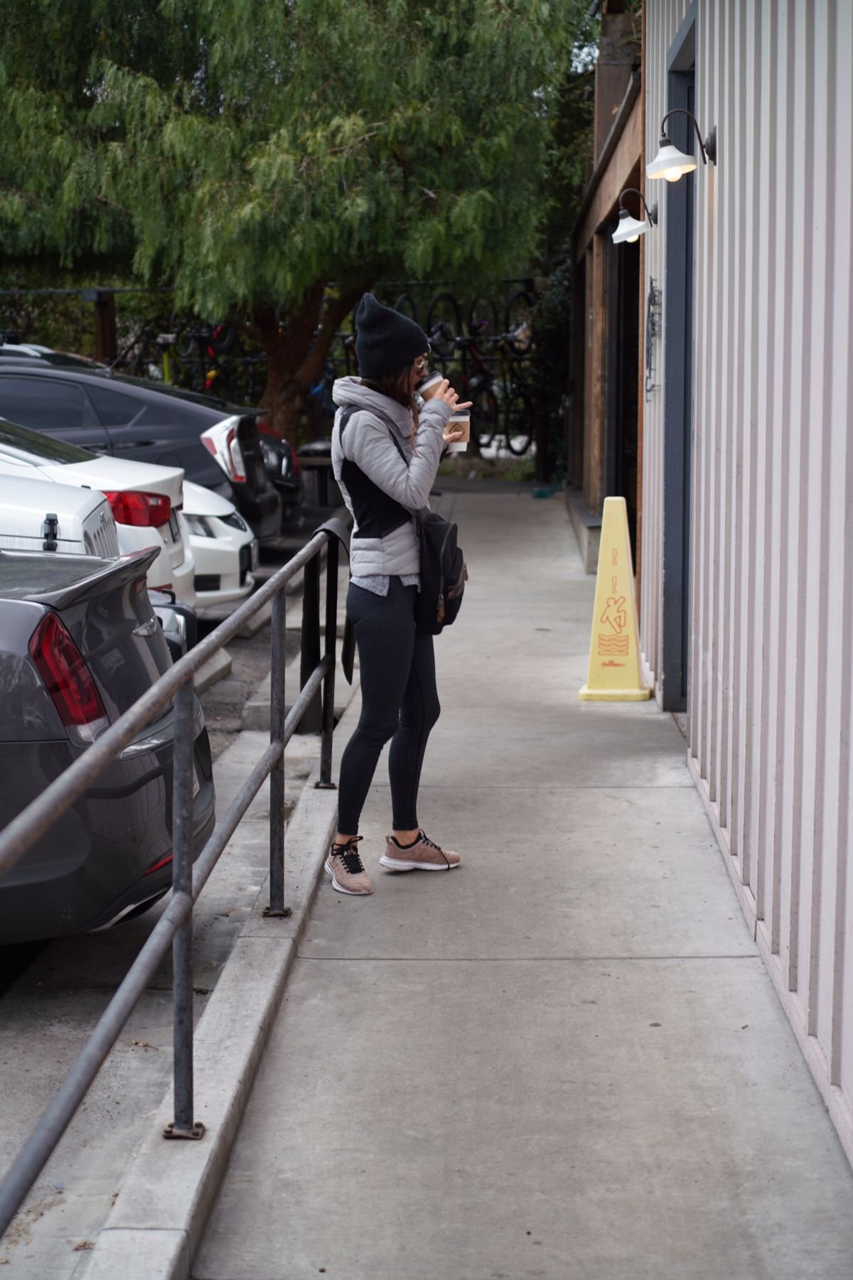 MEGAN FOX Out for Coffee in Los Angeles 02/20/2019