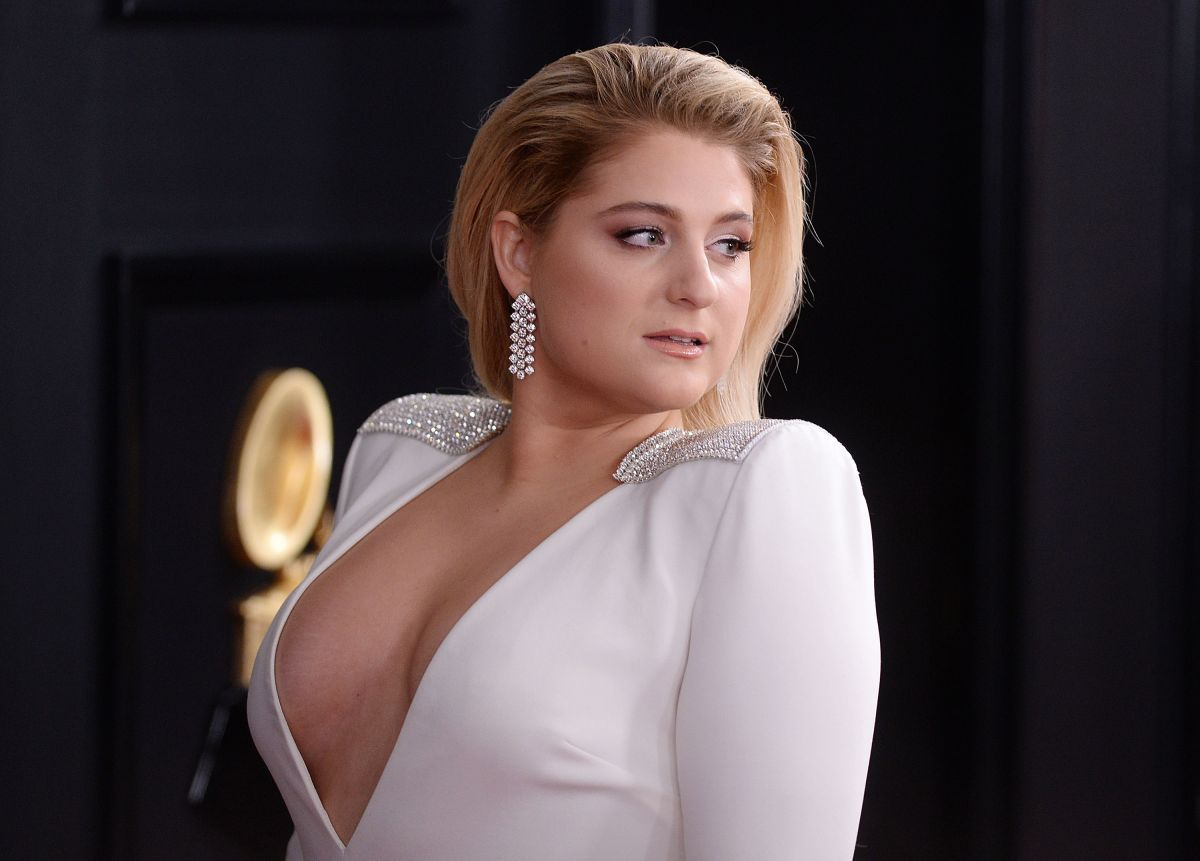 2019 61st Grammy Awards: MEGHAN TRAINOR At 61st Annual Grammy Awards In Los Angeles