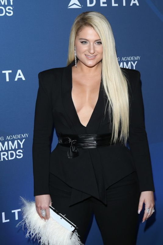 MEGHAN TRAINOR at Delta Air Lines Celebrates 2019 Grammys in Los Angeles 02/07/2019