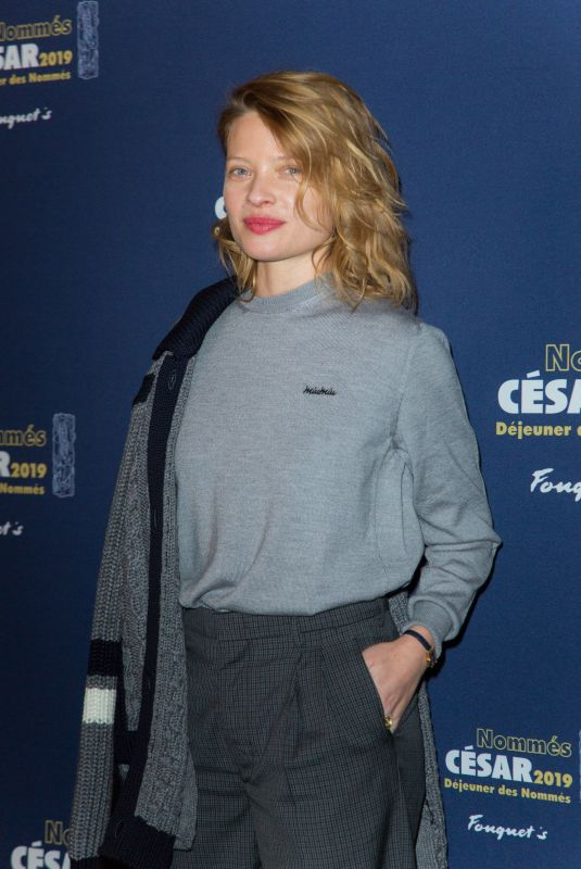 MELANIE THIERY at Cesar 2019 Nominee Luncheon in Paris 02/03/2019