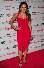 MELISSA GORGA at Heart Truth Go Red for Women Red Dress Collection Runway in New York 02/07/2019