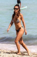 METISHA SCHAEFER in Bikini on the Beach in Miami 02/03/2019