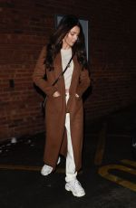 MICHELLE KEEGAN Leaves Terrance Paul Hair Salon in Cheshire 02/01/2019