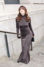 MICHELLE MONAGHAN Arrives at Carolina Herrera Fashion Show at NYFW in New York 02/11/2019
