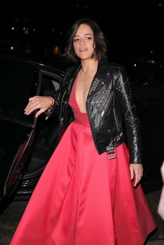 MICHELLE RODRIGUEZ at British Vogue Fashion and Film Bafta Party 02/10/2019