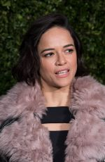 MICHELLE RODRIGUEZ at Charles Finch & Chanel Pre-BAFTA Dinner in London 02/09/2019