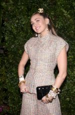 MILEY CYRUS at Charles Finch and Chanel