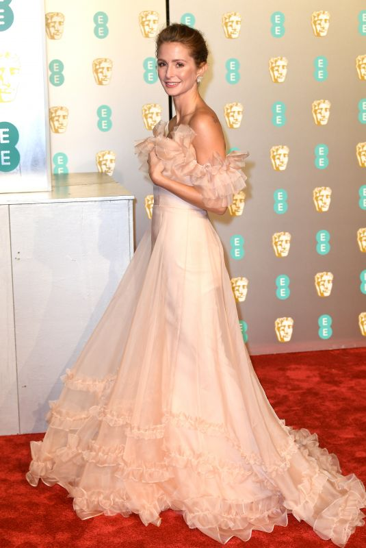 MILLIE MACKINTOSH at Bafta Awards 2019 in London 02/10/2019