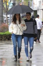 MINKA KELLY Out in Beverly Hills 02/15/2019