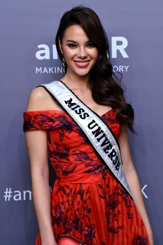Miss Universe 2018 CATRIONA GRAY at Amfar New York Gala 2019 02/06/2019