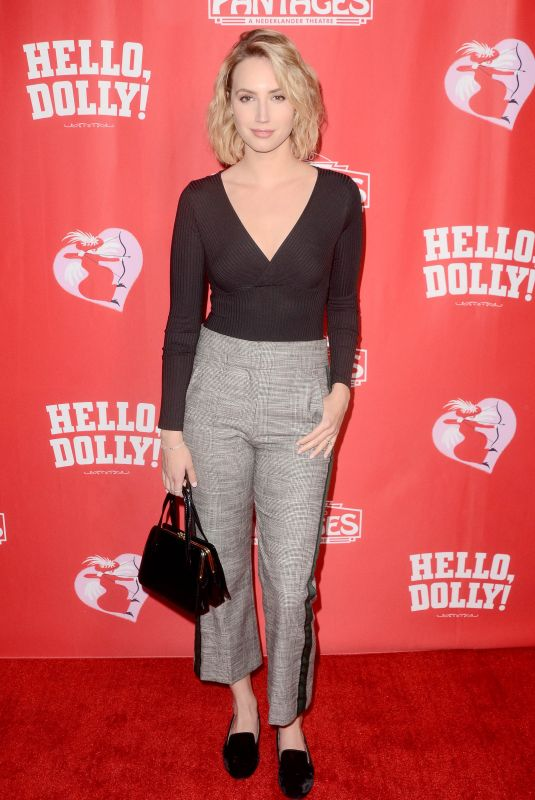 MOLLY MCCOOK at Hello Dolly Premiere in Los Angeles 01/30/2019