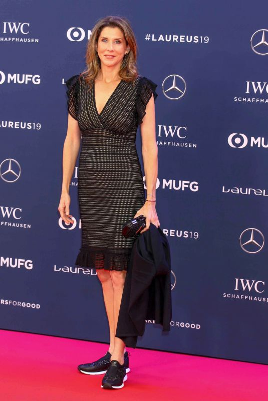 MONICA SELES at 2019 Laureus World Sports Awards in Monaco 02/18/2019