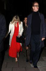 MYLEENE KLASS Arrives at Amanda Holden