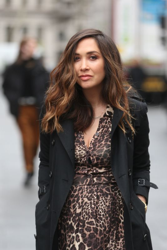 MYLEENE KLASS Out and About in London 02/16/2019