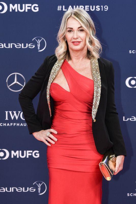 NADIA COMANECI at 2019 Laureus World Sports Awards in Monaco 02/18/2019