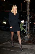 NADINE LEOPOLD Leaves Bowery Hotel in New York 02/05/2019