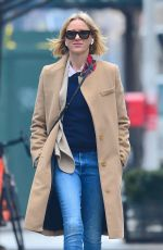 NAOMI WATTS Out and About in New York 02/05/2019