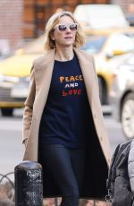 NAOMI WATTS Out in New York 02/06/2019