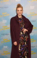 NATALIE DORMER at Home, I'm Darling Play Press Night in London 02/05/2019