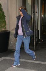 NATALIE PORTMAN Leaves Mark Hotel in New York 02/19/2019