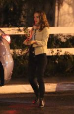 NATALIE PORTMAN Night Out in Los Angeles 02/03/2019