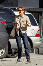NATALIE PORTMAN Out and About in Los Angeles 02/06/2019