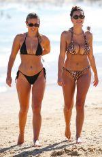 NATASHA OAKLEY and DEVIN BRUGMAN in Bikinis at Bondi Beach in Sydney 02/07/2019