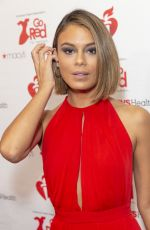 NATHALIE KELLEY at Heart Truth Go Red for Women Red Dress Collection Runway in New York 02/07/2019
