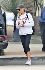 NAYA RIVERA Out Shopping for Furniture in West Hollywood 01/29/2019