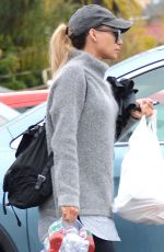 NAYA RIVERA Out Shopping in Los Angeles 02/14/2019