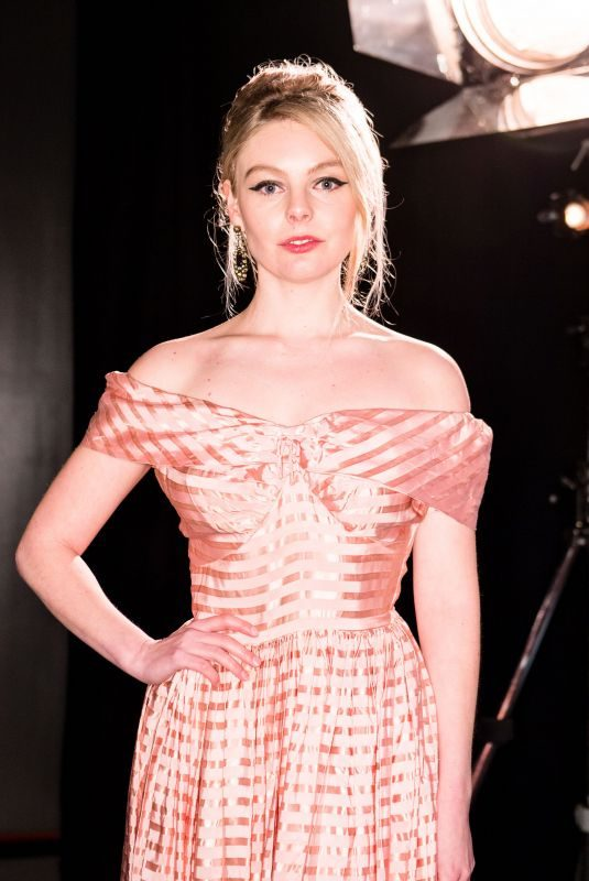 NELL HUDSON at Fabulous Fund Fair at London Fashion Week 02/18/2019
