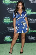 NIA SIOUX at Kim Possible Premiere in Los Angeles 02/12/2019