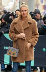 NICKY HILTON Arrives at AOL Build in New York 02/11/2019