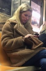 NICKY HILTON Riding the Subway in New York 01/29/2019