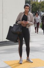 NICOLE MURPHY Out in Beverly Hills 01/30/2019