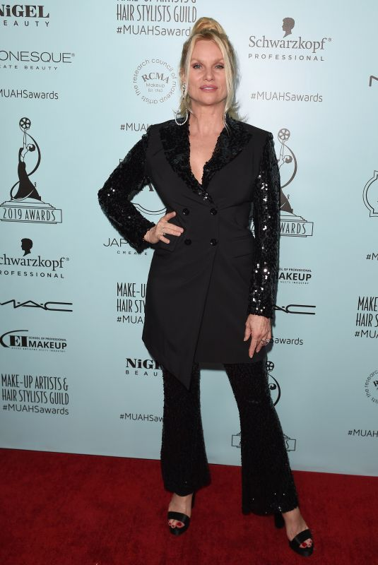 NICOLETTE SHERIDAN at Make-up Artists & Hair Stylists Guild Awards in Los Angeles 02/16/2019