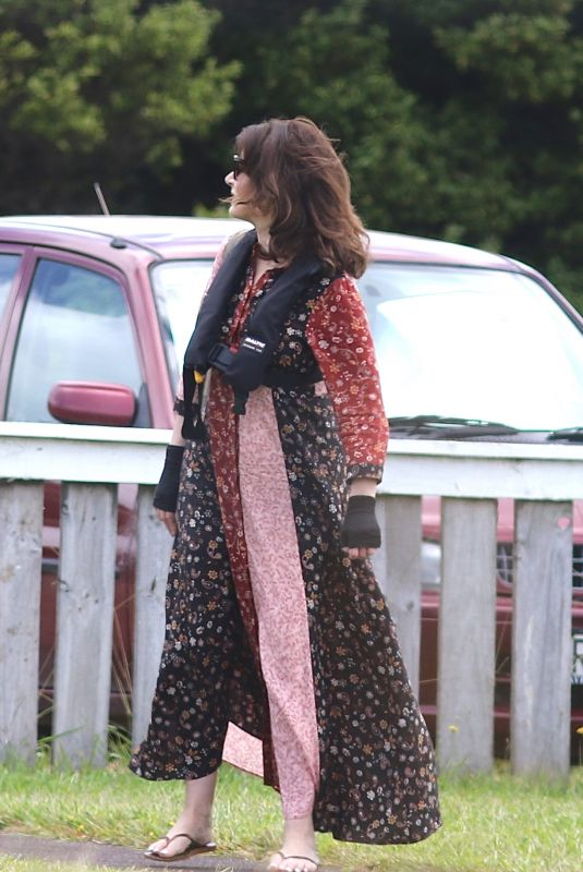 NIGELLA LAWSON Out and About in Auckland 01/28/2019