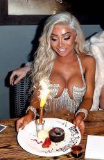 NIKITA DRAGUN Celbrates Her 22nd Birthday in West Hollywood 01/31/2019