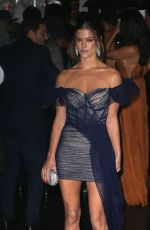 NINA AGDAL Arrives at Amfar New York Gala 2019 02/06/2019