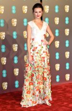 NIOMI SMART at Bafta Awards 2019 in London 02/10/2019