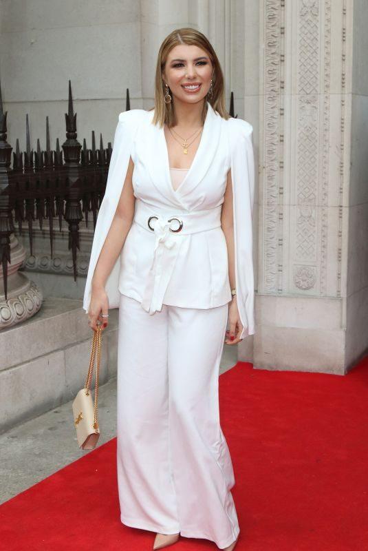 OLIVIA BUCKLAND Out at London Fashion Week 02/16/2019