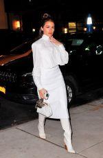 OLIVIA CULPO Arrives at Fendi x The Webster Dinner in New York 02/08/2019