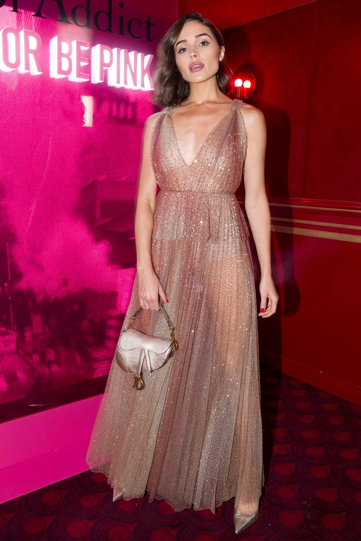 Olivia Culpo At Dior Addict Party At Paris Fashion Week 02 25 2019