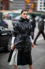 OLIVIA CULPO Leaves Proenza Schouler Fashion Show in New York 02/11/2019