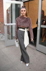 OLIVIA JADE Arrivals at Jonathan Simkhai Show at New York Fashion Week 02/10/2019