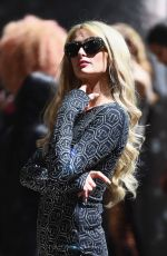PARIS HILTON at The Blonds Runway Show at New York Fashion Week 02/12/2019