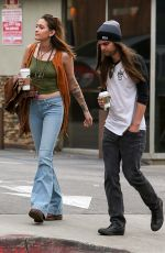 PARIS JACKSON and Gabriel Glenn Out for Coffee in Hollywood 02/01/2019